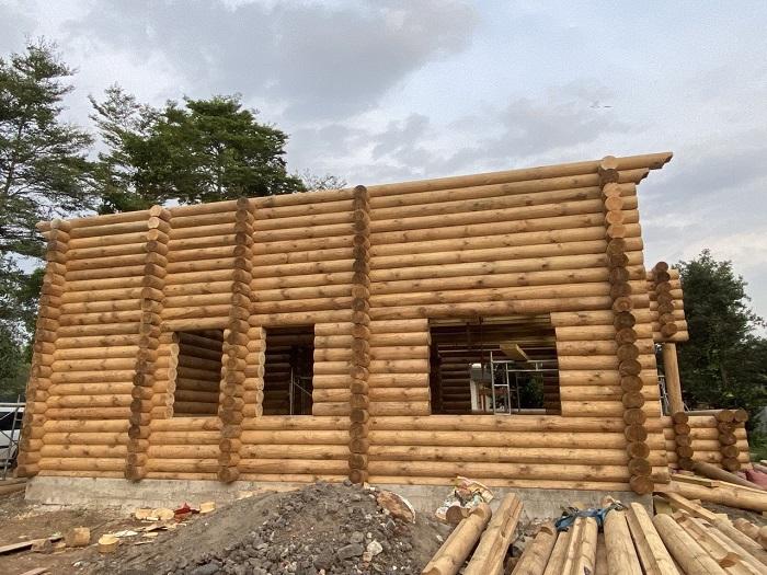 công trình nhà gỗ tại đà lạt