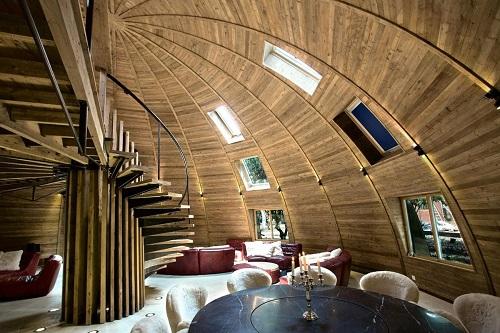 dạng nhà mái vòm dome home
