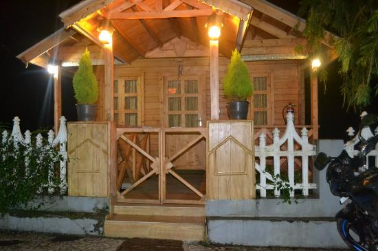 wooden house homestay