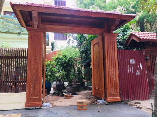 biệt thự gỗ bán hiện đại