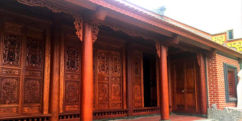 nhà gỗ cổ truyền tại việt nam