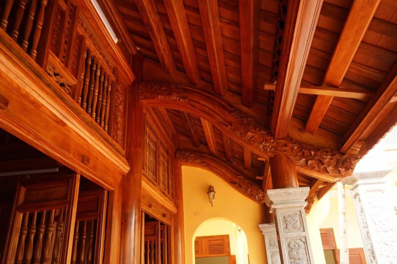 nhà gỗ truyền thống