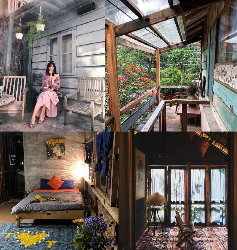 nhà gỗ tại đà lạt địa điểm sống ảo cho giởi trẻ