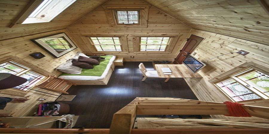 mẫu nhà gỗ thông