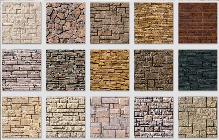 gạch đá tự nhiên cho nhà gỗ hiện đại