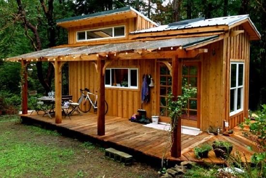 hướng dẫn làm nhà bằng gỗ