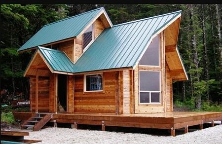 mẫu nhà gỗ hình trụ đẹp