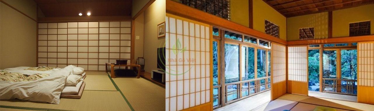 nhà gỗ nhật Shoji